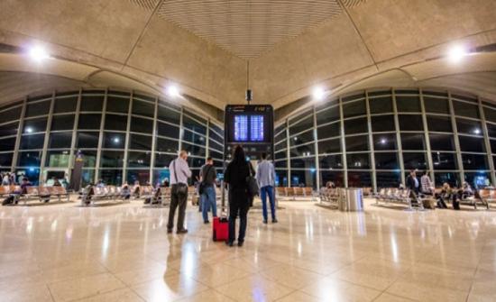 وصول 1733 مسافرا الى مطار الملكة علياء ومغادرة 1491 عربيا واجنبيا