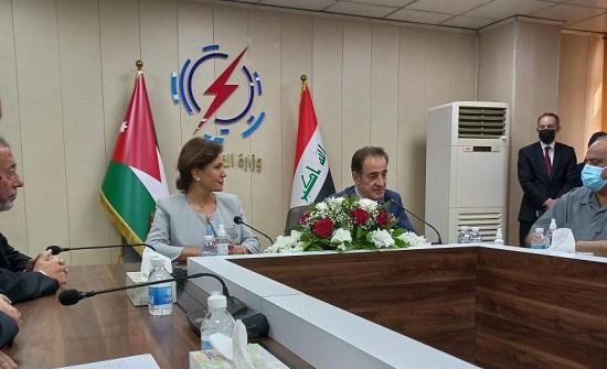 زواتي تتابع في بغداد مخرجات القمة الأردنية العراقية المصرية المتعلقة بقطاع الطاقة
