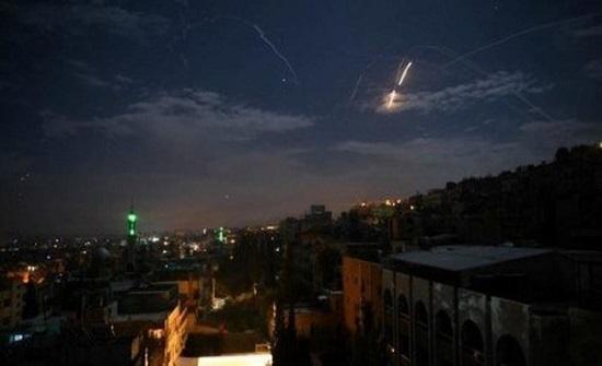 تدمير مستودع أسلحة إيراني بغارات إسرائيلية قرب دمشق