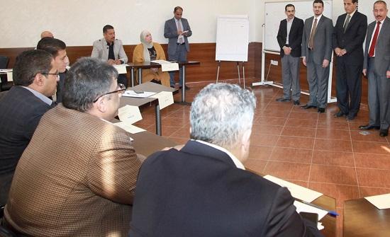 دورة تدريبية لموظفي وزارة الداخلية بعنوان ادارة المعرفة