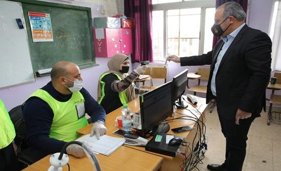 أمين عمان يشيد بالإجراءات الصحية والوقائية في الانتخاب النيابية