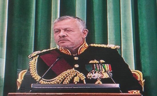 الملك  : فرض سيادتنا الكاملة على كل شبر من الباقورة والغمر