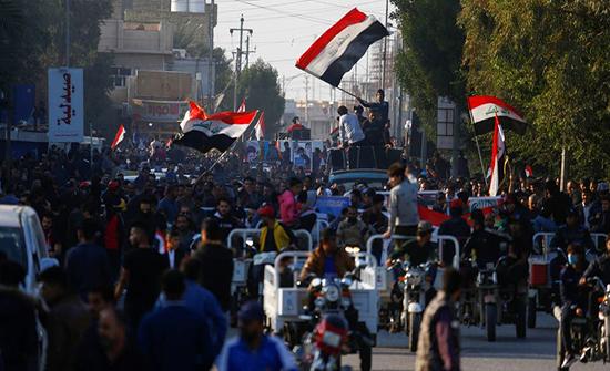 مقتل 6 متظاهرين في إطلاق مسلحين النار على محتجين ببغداد