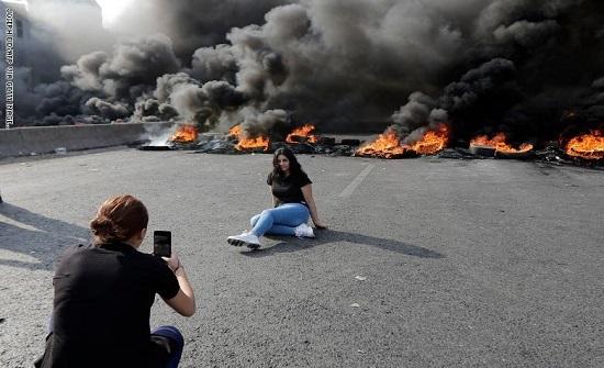 مظاهرات لبنان .. الجميلات الثائرات - صور