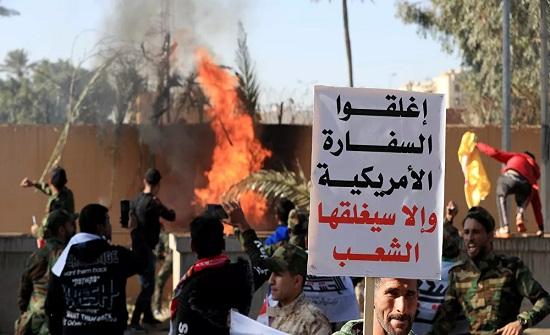 إعلام: الولايات المتحدة تسحب نصف دبلوماسييها من العراق خشية انتقام إيراني