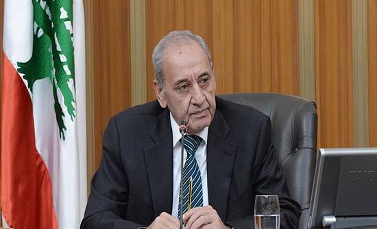 بري يحذر من تصريح نتنياهو بشأن ضم غور الأردن