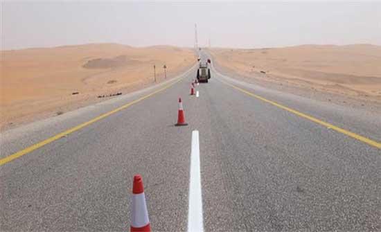 الايعاز بتنفيذ مشروع إعادة تأهيل طريق الشحن الجوي جنوبي عمّان