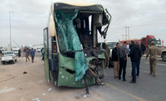 حصيلة نهائية : 68 إصابة في حادث الصحراوي .. صور وفيديو