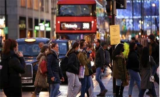 بريطانيا تسجل 156 وفاة و 29547 إصابة بكورونا