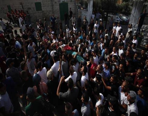 تشييع جثمان فلسطيني توفي داخل السجون الإسرائيلية