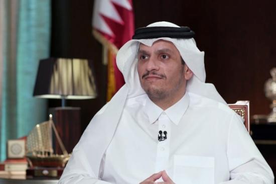 وزير الخارجية القطري يبحث ونظيره الأميركي الاعتداءات الإسرائيلية