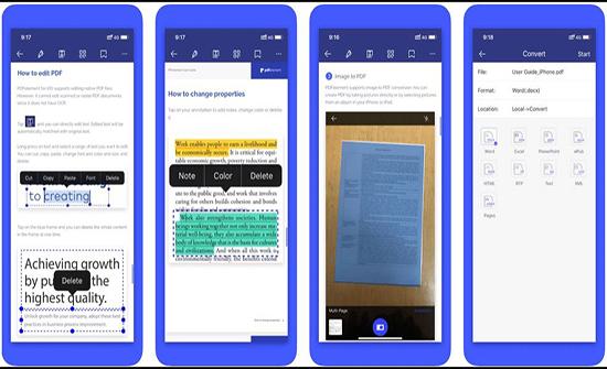 3 تطبيقات تتيح لك تحرير ملفات PDF بسهولة على هاتفك