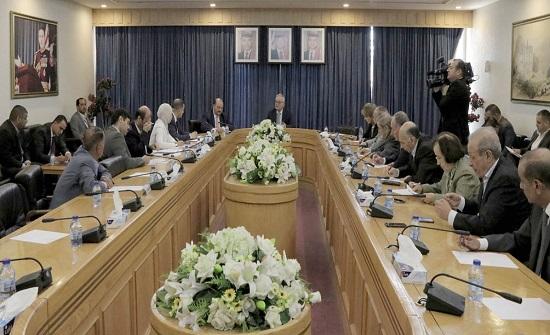 مالية الأعيان تلتقي وزير التخطيط والتعاون الدولي
