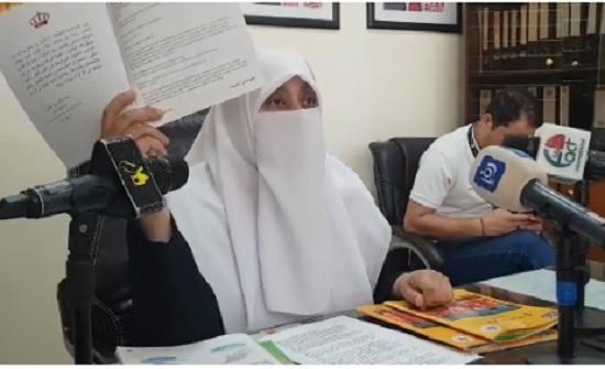 شاهد : النائب العتوم تفتح ملف المناهج الدراسية في الاردن
