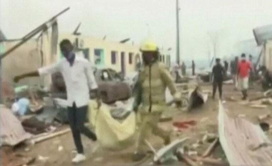 ارتفاع حصيلة ضحايا الانفجارات في غينيا الاستوائية إلى 98 قتيلا