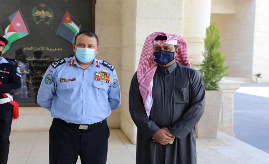 مدير الأمن العام يلتقي رئيس الاتحادين القطري والعربي للرياضة الشرطية
