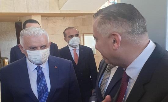 فلسطين النيابية تلتقي يلدرم وتوران ونباتي في أنقرة - صور