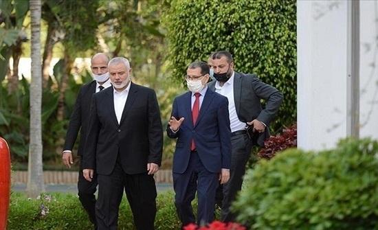 """وفد """"حماس"""" يختتم أول زيارة له للمغرب ونواكشوط الوجهة التالية"""