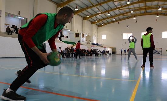 ورشة تدريبية عن لعبة (كرة العين) في جامعة الحسين بن طلال