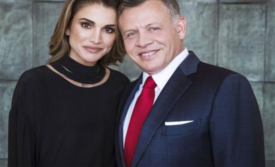 هكذا هنأت الملكة رانيا الملك بعيد ميلاده