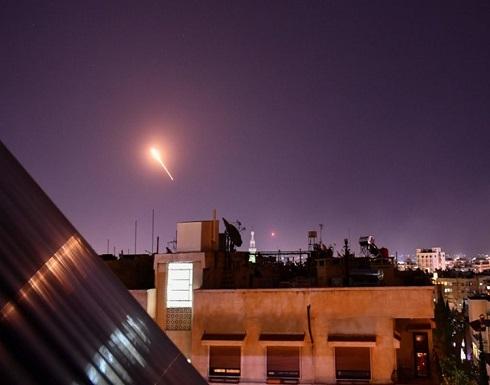 سقوط صاروخ للنظام السوري جنوب لبنان (شاهد)