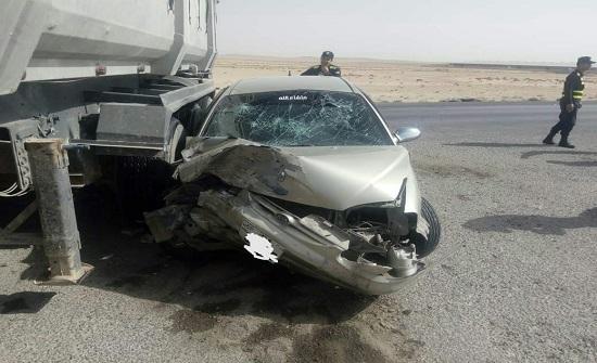 وفاتان و10 إصابات بحوادث سير خلال الـ 24 ساعة
