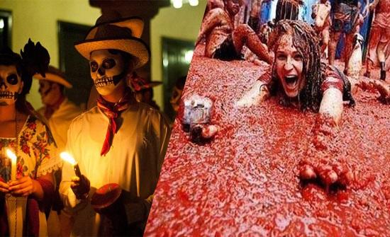 بالصور..المهرجانات الأكثر غرابة وجنوناً حول العالم !