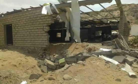 انفجار عنيف يهز معسكرا للقوات الحكومية في أبين وسقوط قتلى ومصابين
