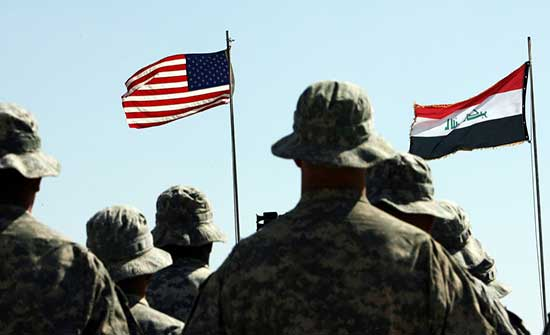 قبل إتمام الانسحاب.. العراق يطالب أميركا بحوار استراتيجي