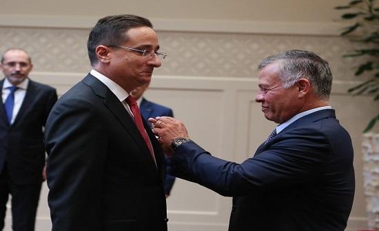 التل يقدم اوراق اعتماده كسفير للمملكة معتمد وغير مقيم في لاتفيا