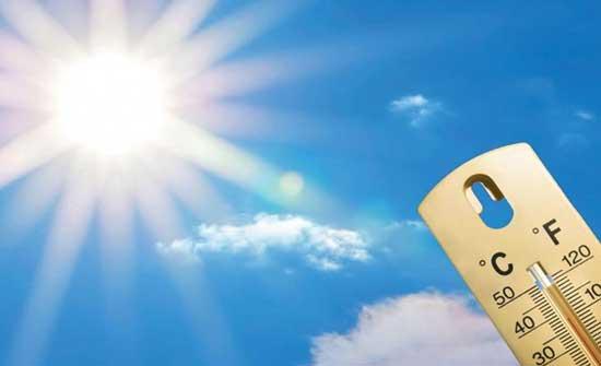 الثلاثاء : ارتفاع جديد على درجات الحرارة