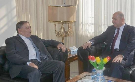 وزير العدل العراقي يزور المحكمة الدستورية
