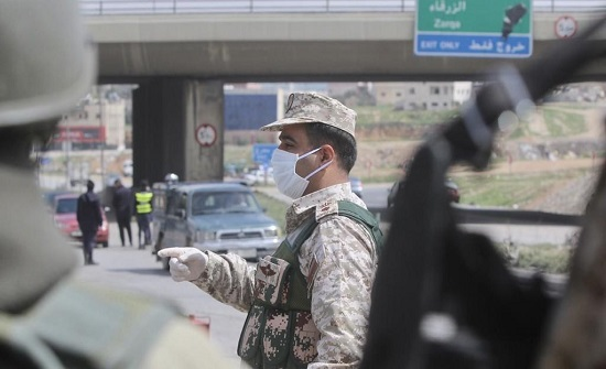 القوات المسلحة تنتشر على مداخل ومخارج محافظات المملكة