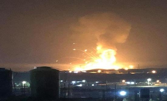 دوي انفجار يهز مدينة الزرقاء .. بالفيديو والصور