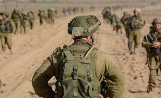 """جيش """"اسرائيل"""" يجري تدريبات بالقرب من حدود الأردن"""
