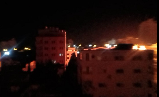 """الجيش """"الإسرائيلي"""": أطلقنا 110 صواريخ على 35 هدفا في غزة"""