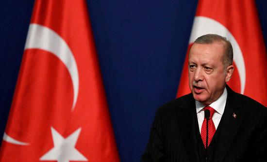 أردوغان: الولايات المتحدة وروسيا لم تتمكنا من إخراج الوحدات الكردية من شمال شرق سوريا