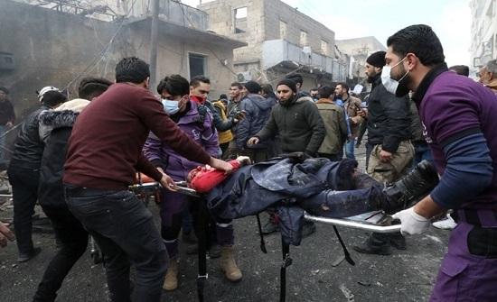 قتلى وجرحى بانفجار مفخخة في مدينة الراعي السورية