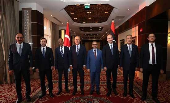 تركيا: سنواصل تعاوننا مع ليبيا من أجل استقرارها وازدهارها