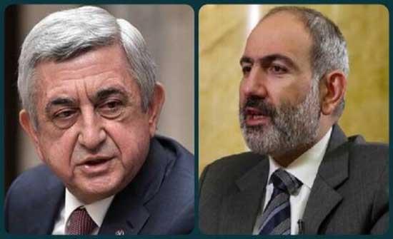 الرئيس الأرمني السابق يهدد باشينيان بفضيحة تعرضه للخطر