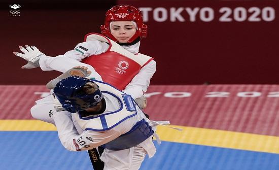 لاعبة منتخب التايكواندو الصادق تخسر أمام البرازيلية تيتونيلي بأولمبياد طوكيو