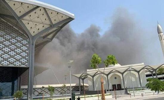 السعودية.. إصابة 5 في حريق محطة قطار الحرمين