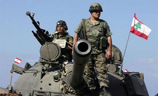 الجيش اللبناني يفتح النار على طائرة إسرائيلية مسيرة