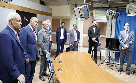 التوجيه الوطني والثقافة النيابية تزور معهد الإعلام