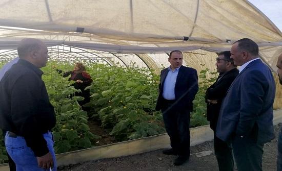 زيارة تفقدية للمدارس الحقلية في وادي الأردن