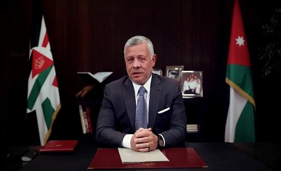 الملك يتبادل التهاني مع الرئيس المصري بقرب حلول عيد الفطر