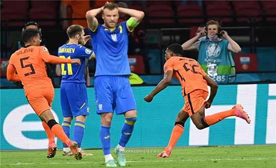 بالصور: هولندا تحبط ريمونتادا أوكرانيا بفوز قاتل