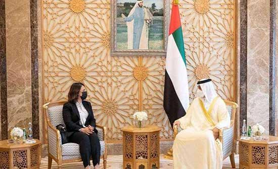 منصور بن زايد يستقبل وزيرة خارجية ليبيا