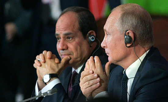 السيسي: اتفقنا على تسوية الصراعات بين الدول بالطرق السلمية