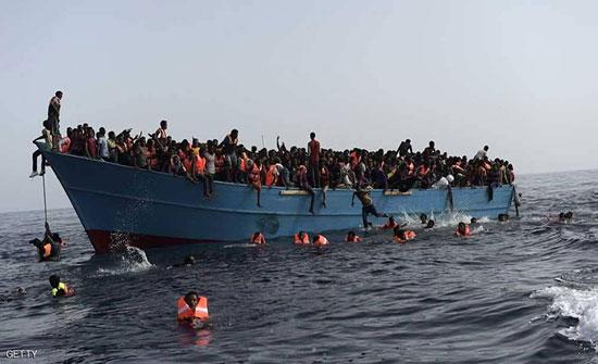 مقتل 15 ونجاة 177 حاولوا الهجرة من ليبيا عبر المتوسط